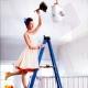 Comment laver les plafonds tendus?