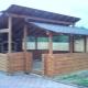 लकड़ी और अन्य सामग्री के बगीचे के लिए एक बंद gazebo कैसे बनाएँ?