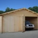 How to make a wooden garage with your own hands?