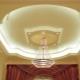 Hur man gör ett tak på två plan med gips med belysning?