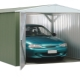 How to make a garage from a professional sheet with your own hands?