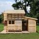 Hur man monterar ett lusthus från pallar?