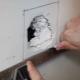 दीवार पर drywall में एक छेद कैसे ठीक करें?