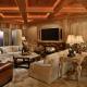 Plafond à caissons: belles options de garnitures intérieures