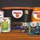 Alpina målarfärg: egenskaper och färger