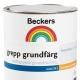 Beckersfärger: sorter och färger
