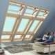 Skylights: types and features of installation
