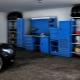 Mobilier de garage: exemples d'aménagement de la pièce