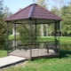 Metal arbors for giving: types of designs