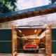Metal garage: types of designs and installation features