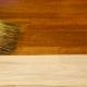 Trä fläck: Fördelar och nackdelar