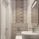 Мозайка в тоалетната: идеи за декорация