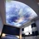 Stretch ceiling sky: de belles idées à l'intérieur