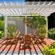 Canopy-arbor: valet av design