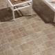 Glidbar kakel till badet på golvet: valet och tipsen om läggning