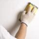 Poncer les murs après le mastic: la technologie des travaux de réparation