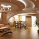 Plafonds en placoplâtre: idées de design pour différentes pièces