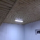 The ceiling in the garage: how to do and what sheathe