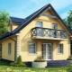 Projekt av hus med vinden: vacker design inom och utanför