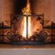 Fireplace grilles: features of choice