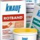 Pansement Knauf Rotband: caractéristiques et application