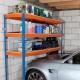 Rayonnages pour le garage: types de structures pour le stockage