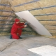Warming attic in a house with a cold roof: the choice of material and stages of work