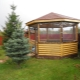 What are the advantages of soft windows for gazebos?