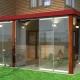 Framelös glasering på veranda och terrass: detaljerna i processen