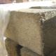 Cement och sågspånsblock