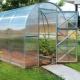 Land växthus 2DUM: egenskaper och subtiliteter av installationen