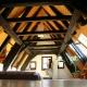 Golvdesign på vinden: intressanta interiörmöjligheter