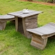 Designer garden furniture: author's ideas for your garden