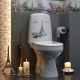 Porslin eller fajanse: vad är bäst på toaletten?