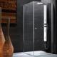 Att göra en duschkabin utan en pall med egna händer i lägenheten