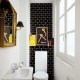 Tile in the toilet: design ideas