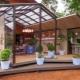 Hur lätt och vackert att fästa ett lusthus i huset?