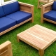 How to make garden furniture with your own hands?