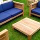 Comment faire des meubles de jardin avec vos propres mains?