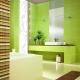 Hur väljer man en grön kakel till badrummet?