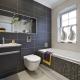 Quelle tuile de salle de bain est préférable de choisir: brillant ou mat?