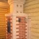 Four à briques pour un bain avec une chambre de combustion depuis un dressing: caractéristiques d'installation