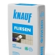 Knauf glue: types and characteristics