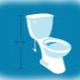Bekväma höjden på toaletten: vad borde vara?