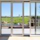 Design och modeller av glidande aluminiumfönster för balkonger, verandor, arbor