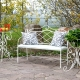 Forged garden furniture: a variety of choices