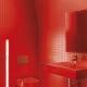 Röd toalett: typer och idéer av design