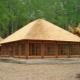 Reed roof: una solución original y práctica.