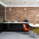 Brick MDF panels: examples of interior design