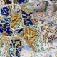 Mosaik i stil med Antonio Gaudi: en spektakulär lösning för inredningen